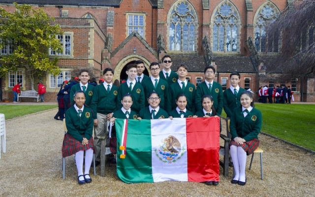 Estudiantes de Matamoros destacan en el British English Olympics, Londres 2016