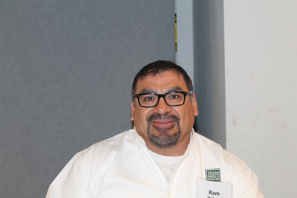 Ram Medrano, Fish and Wildlife Technician, Inland Fisheries División