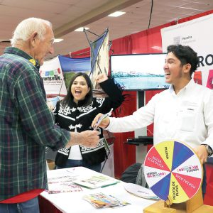 Secretaría de Turismo en Matamoros participa en el 25 Annual Winter Texas Expo & Health