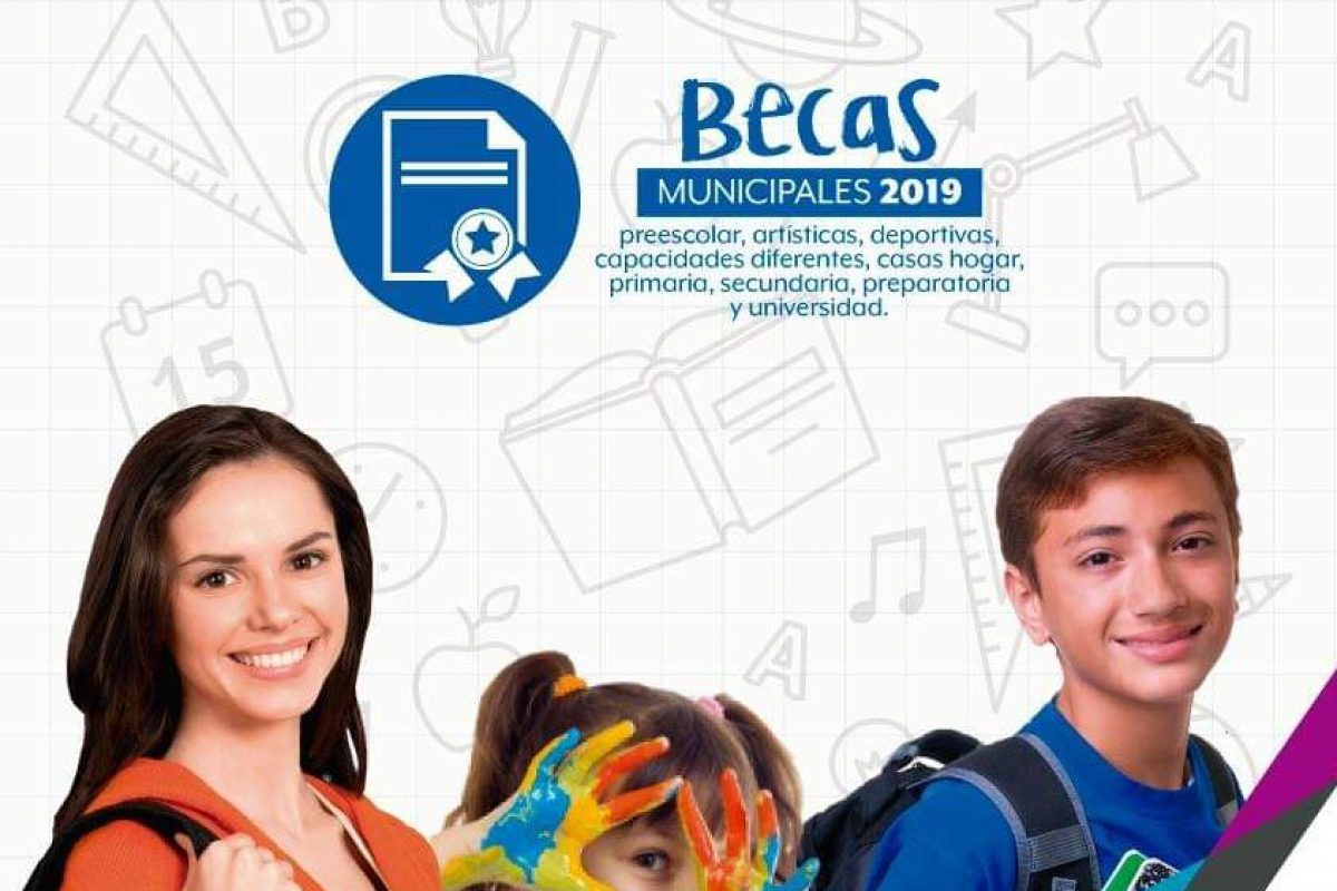 Van por becas estudiantes universitarios.